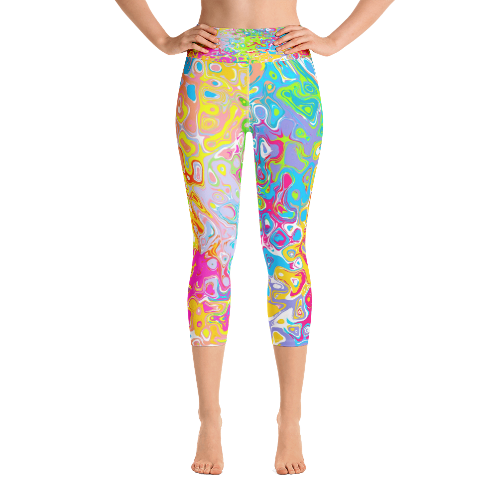 Pastel 2 Capri Leggings