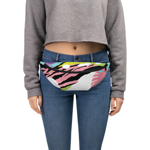 Pink Pop Art Fanny Pack