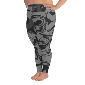 Grisaille Plus Size Leggings