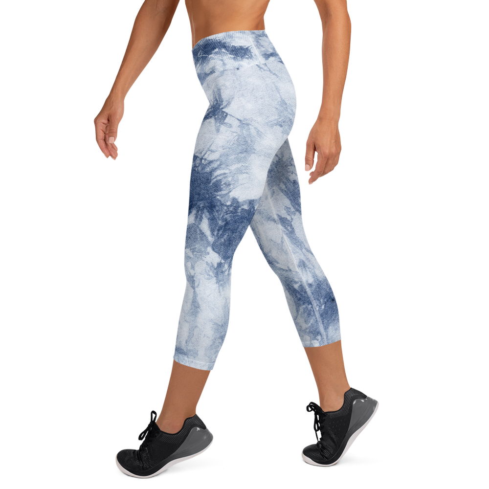 Denim Wash Capri