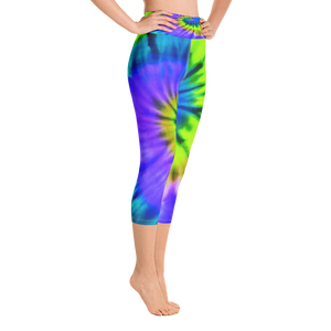 Spiral Capri Leggings