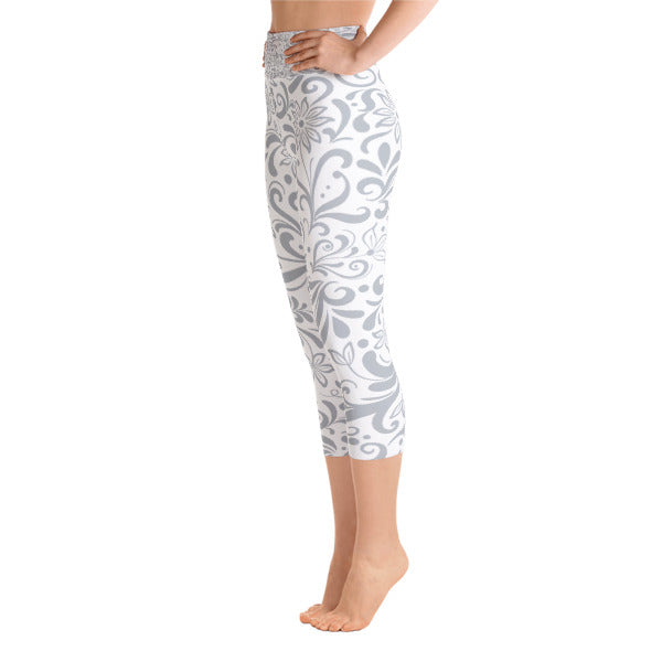 Swirl Capri Leggings