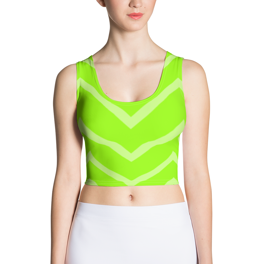 Summer Green Crop Top