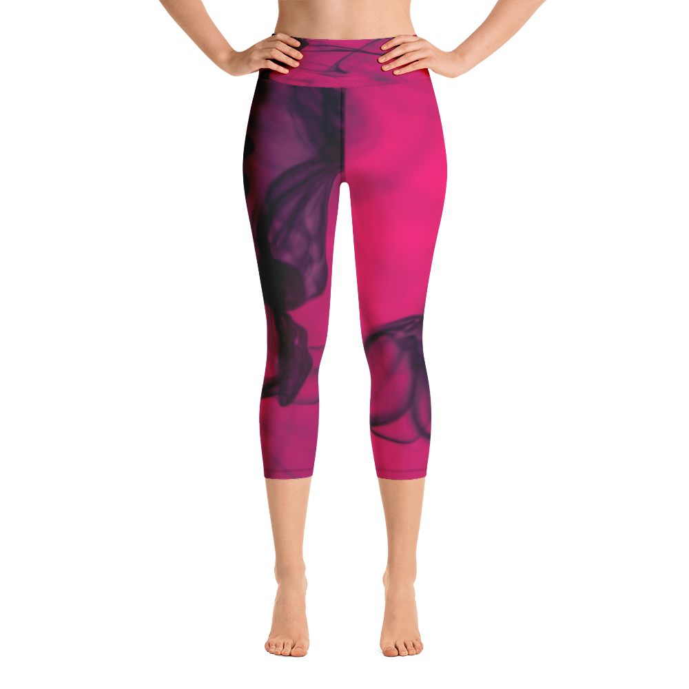 Hot Pink Capri Leggings