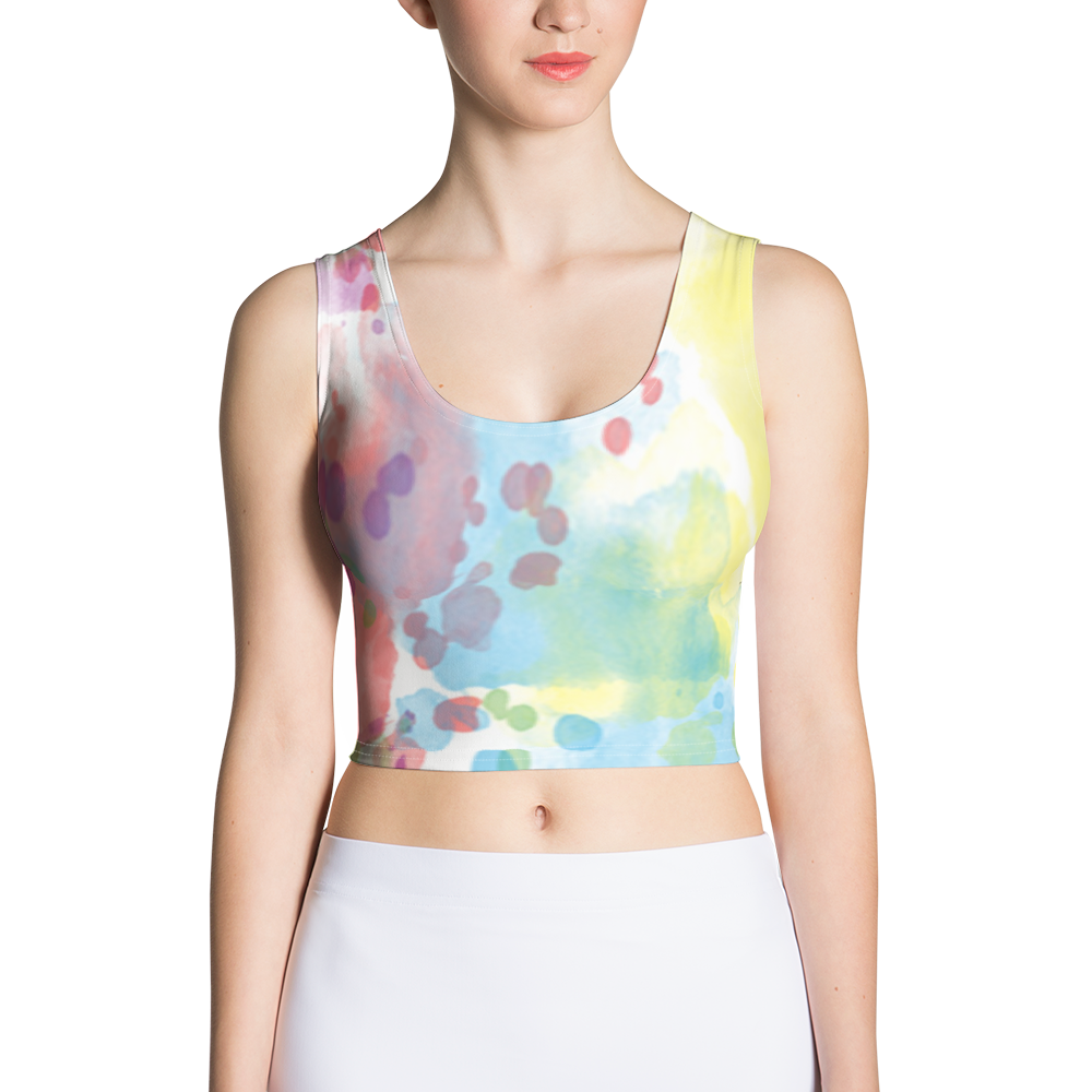 Paint Splash Crop Top