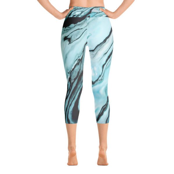 Blue Moon Capri Leggings