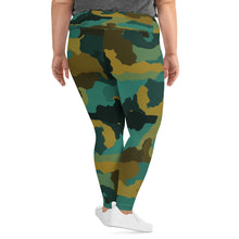 Rain Forest Camo Plus Size Leggings