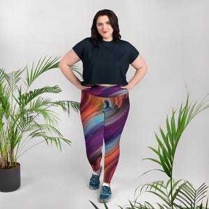 Vortex Plus Size Leggings