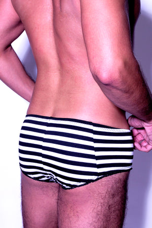Fatale striped mens brief