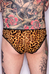 Leopard Skinny Brief