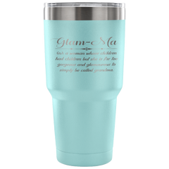Glam-Ma Laser Etched Tumbler