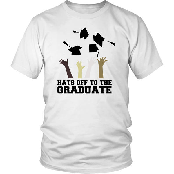 Hats Off To The Graduates Tees (Men)