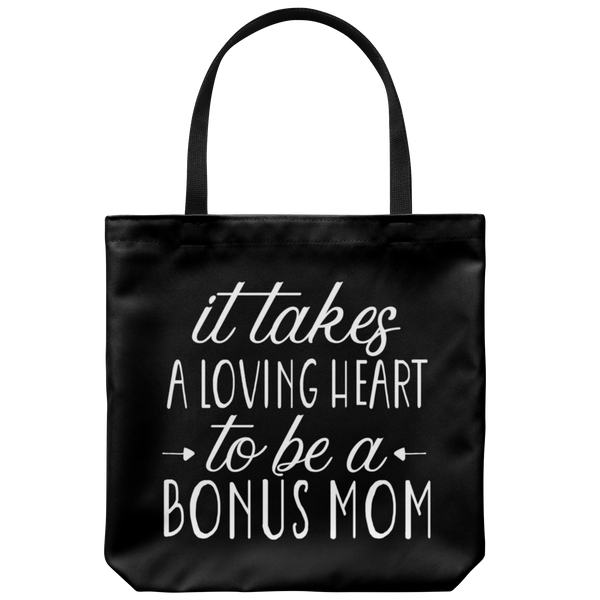 It Takes A Loving Heart Tote Bag