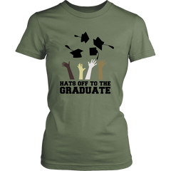Hats Off To The Graduates Tees (Women)