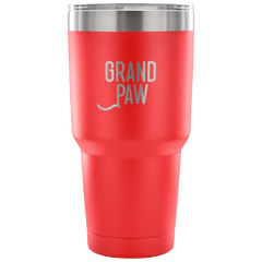 Grand Paw Laser Etched Tumbler