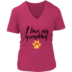 I love my granddog Tees