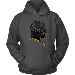 Black Panther Gold Mask Hoodie
