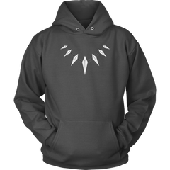 Black Panther Claw Necklace Hoodie