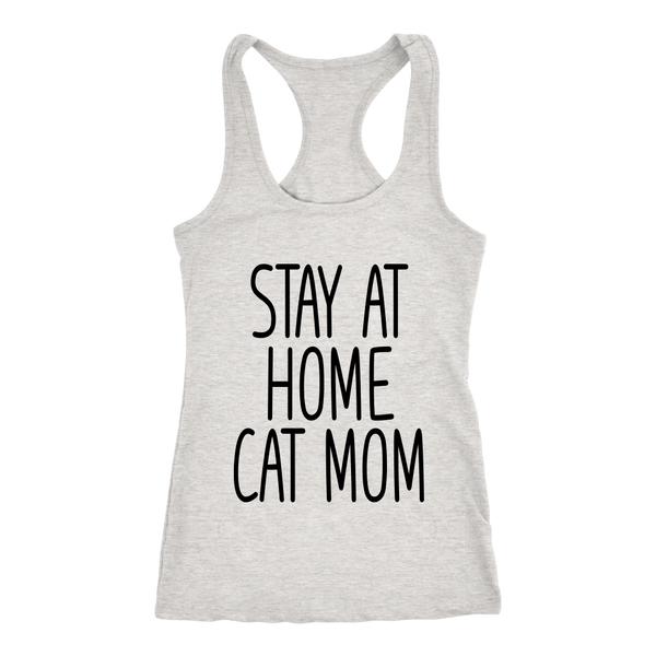 Stay At Home Cat Mom Tank