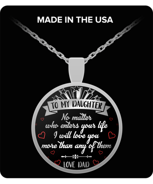 To My Daughter - Necklace