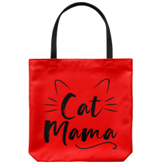 Cat Mama Tote Bag