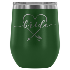 Bride Stemless Wine Tumbler