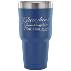 Grandma & Granddaughter Laser Etched Tumbler