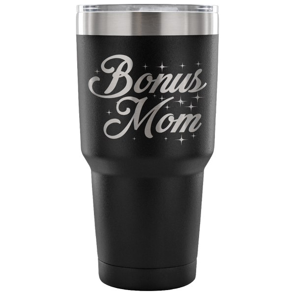 Bonus Mom Laser Etched Tumbler