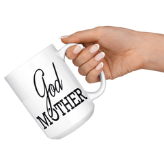 Godmother 15oz White Mug