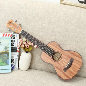 "Zebra 23"" 26"" 4 Strings Mahogany Concert Guitar Guitarra Rosewood Fretboard Bridge Ukulele Uke For Musical Stringed Instruments - Ukulele Koa"