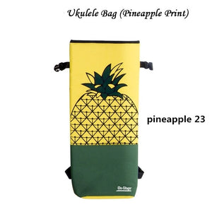 Soprano Concert Ukulele Bag Case Backpack 21 23 Inch pineapple watermelon Ukelele Guitar Accessories Parts Gig Waterproof Lithe
