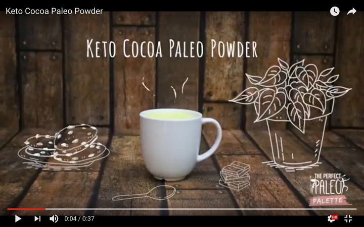 Paleo Hot Cocoa - Keto Friendly Paleo Powder Cocoa