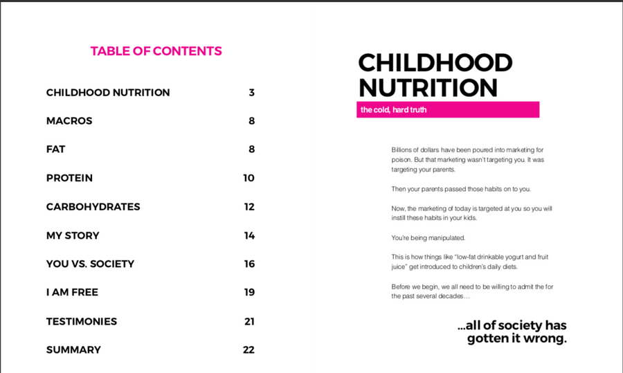 The Ultimate Guide To Macros For Kids by Justin Nault - E-Book