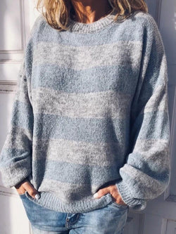 Regular Loose Long Sleeve Sweater