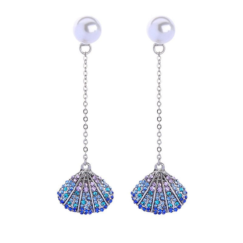 Alloy Diamante European Party Earrings