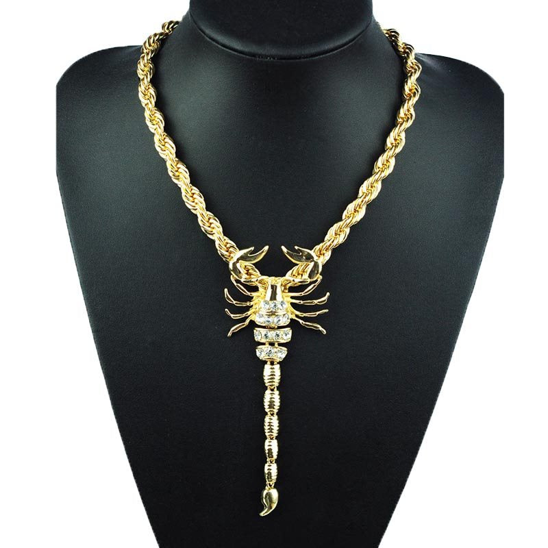 Animal Pendant Necklace E-Plating Female Necklaces