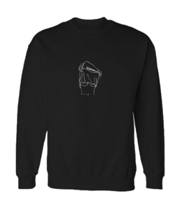 Provocative crew neck jumper (Hoodless)