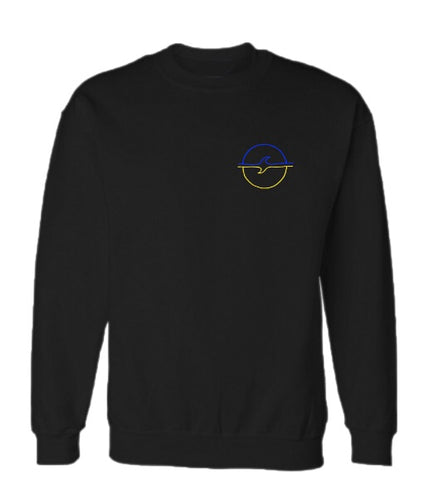 Making Waves Hoodless Crewneck Jumper