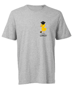 Little Lingo Tee Grey