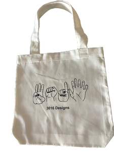 3016 Hands Tote Bag