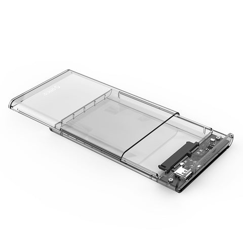 Orico 2.5 USB-C Transparent HDD Enclosure