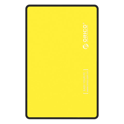 Orico 2.5 USB3.0 External HDD Enclosure Yellow