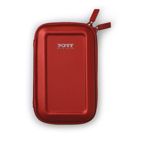 Port Designs COLORADO 2.5 Shock HDD Case Red