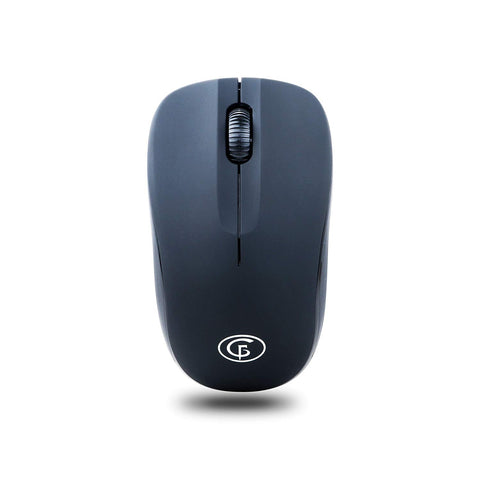 GoFreetech Wireless 1600DPI Mouse Black