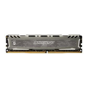Ballistix Sport LT 16GB DDR4 2666MHz Desktop Gaming Memory Grey