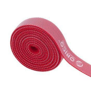 Orico velcro cable ties 1m Red
