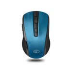 GoFreetech Wireless 1600DPI Mouse Blue