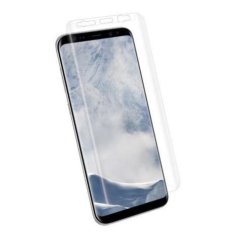 Kanex EdgeGlass (TM) Edge-to-Edge Glass Screen Protector for Galaxy S8+ Clear