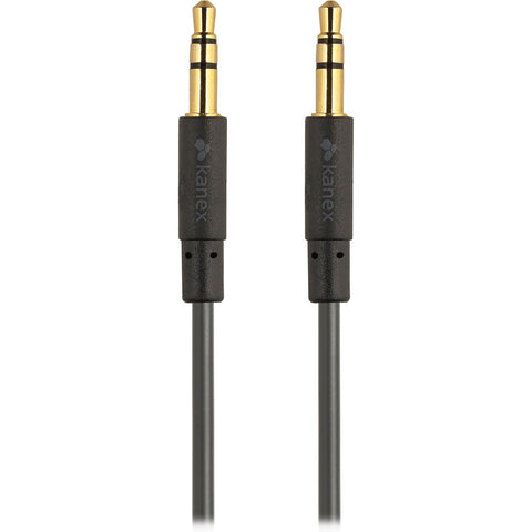 Kanex Stereo Audio 3.5mm Cable Black