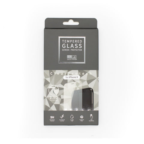 Mr. Lei 2.5D 0.33mm Tempered Glass Protector iPhone X Clea